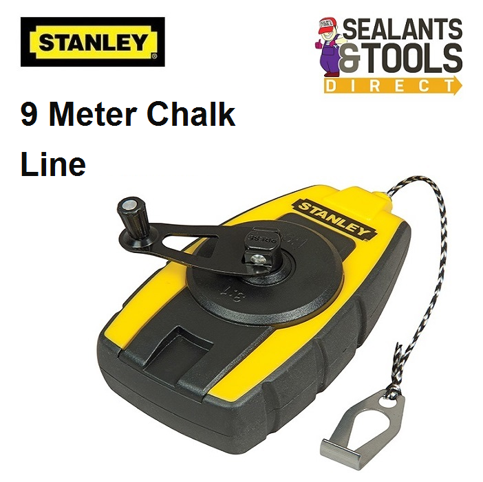 Stanley 9 Meter Compact Chalk Line