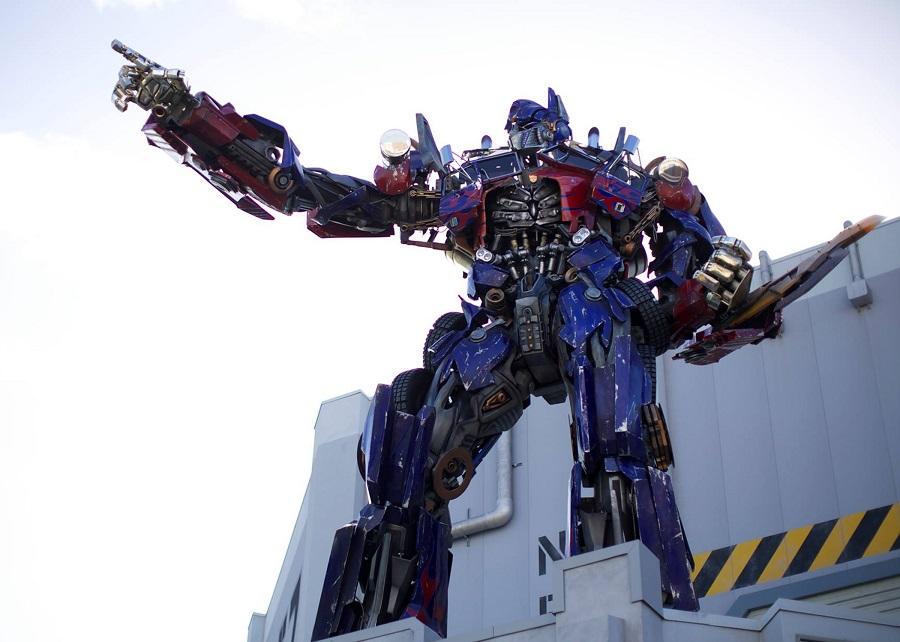 Universal Studios Florida Transformers