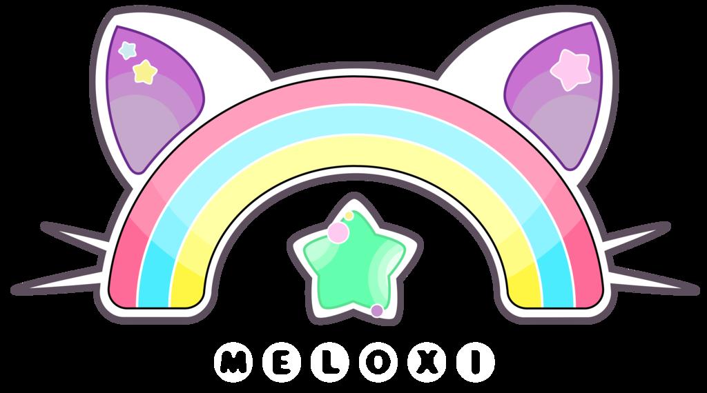 rainbow cat logo by meloxi d9whk11