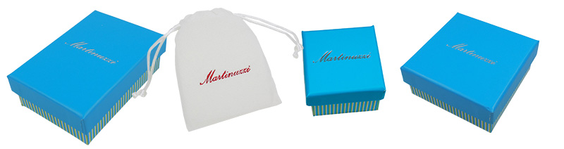 Gift ready jewelry sold by Martinuzzi Accessories
