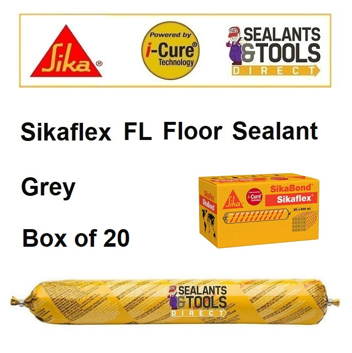 Sika Sikaflex FL Floor Joint Sealant 600ml GREY Box of 20