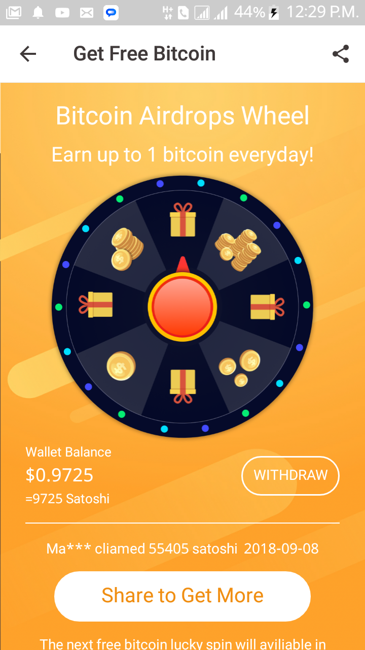New Hottest Apk Get Free Btc And Airdrop - The Bitcoin Forum