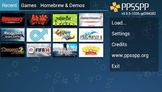 PPSSPP Gold - PSP emulator 1.5.4 APK
