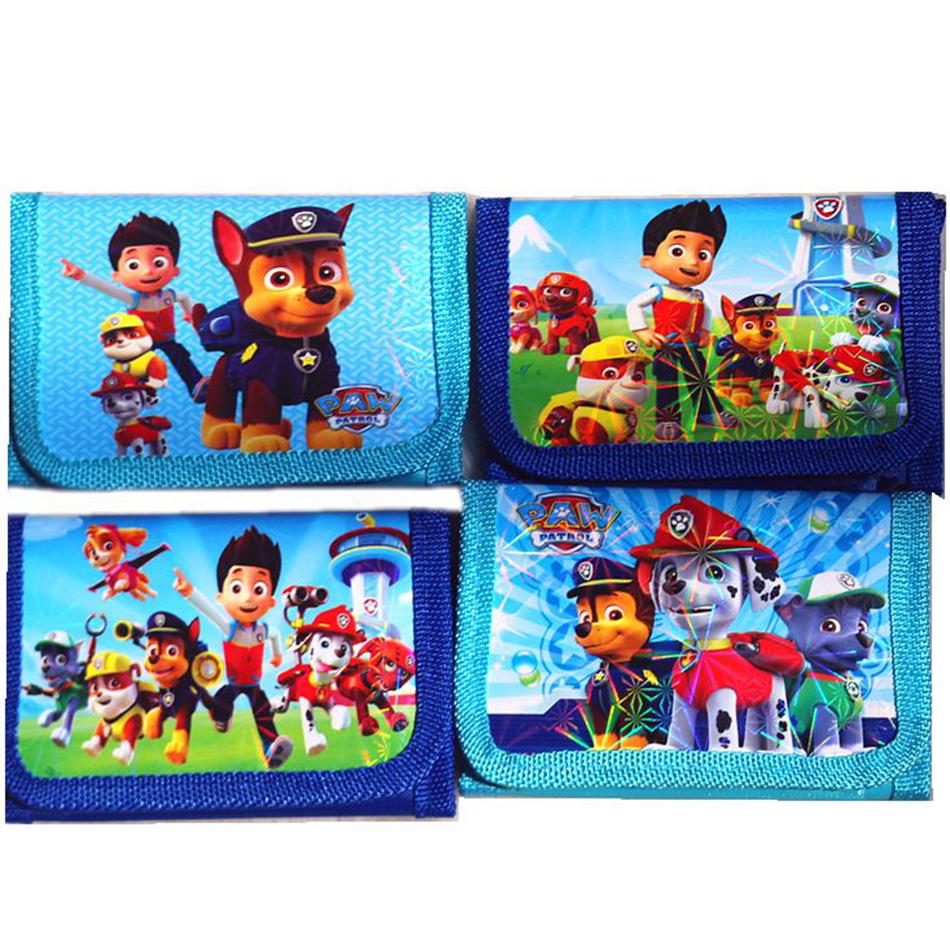Paw Patrol Wallet Boys Children Kids Cartoon Character ...