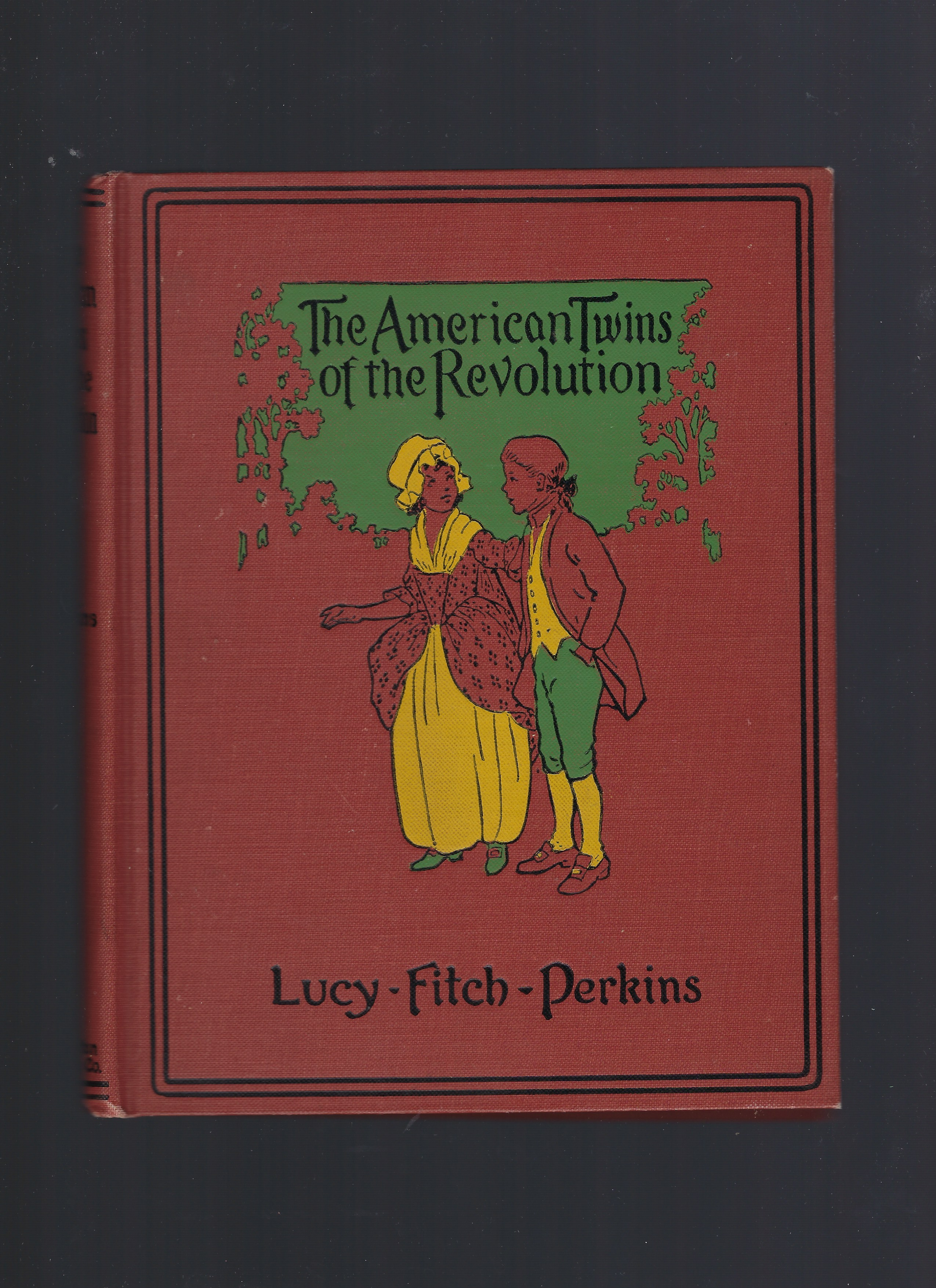 Signed American Twins of the Revolution Lucy Fitch Perkins, Lucy Fitch Perkins