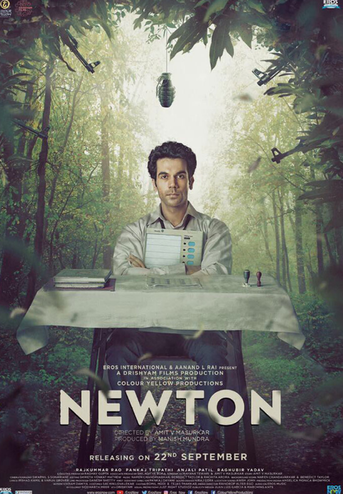 Newton (2017) Hindi 720p BRRip x264 AAC ESub 1GB