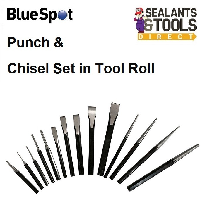 Blue Spot Tools Punch Drift & Metal Chisel 14pc Set 22451