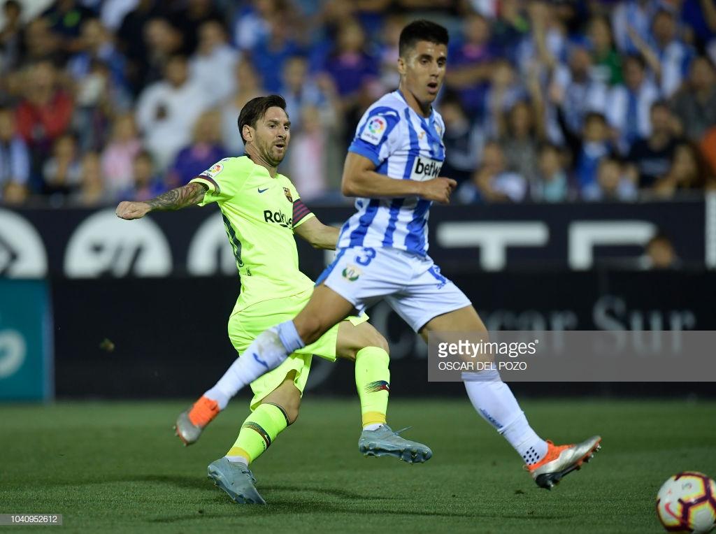 صور مباراة : ليغانيس - برشلونة 2-1 ( 26-09-2018 ) Lll
