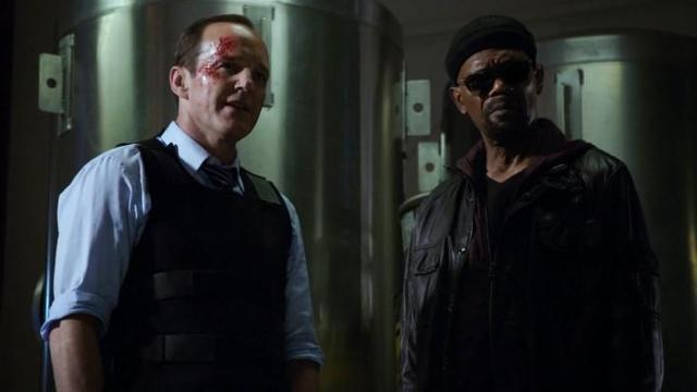Clark Gregg Teases A Reunion Between Coulson & Nick Fury As He Arrives On The Set Of CAPTAIN MARVEL
