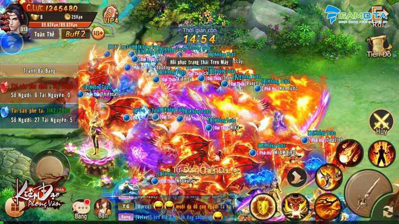 Khám phá sức mạnh Bang Hội đang lan tỏa trong Kiếm Đạo Phong Vân