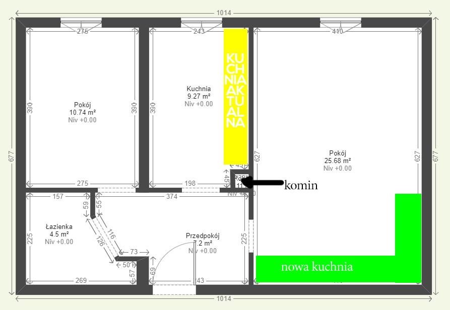 Przeniesienie Kuchni Do Pokoju Forum Budowlane Budowa