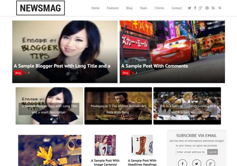 Newsmag_Blogger_Template