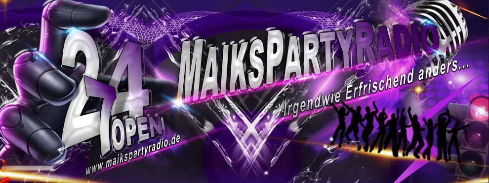 www.maikspartyradio.de - Irgendwie Erfrischend anders