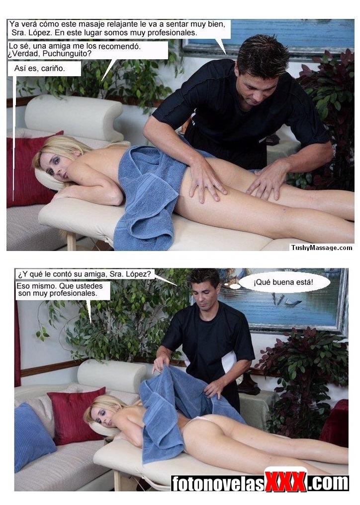 el masajista y la puta de mi mujer fotonovela pag1