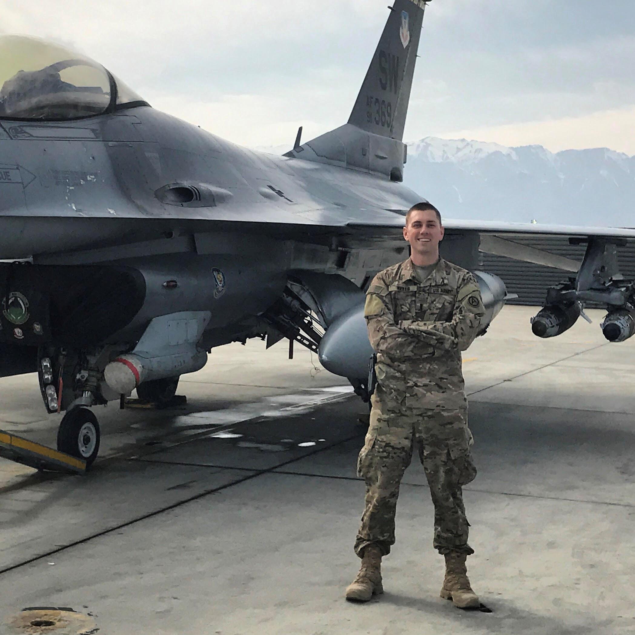 U.S. Armed Forces F-16 - Bagram Airfield, Afghanistan