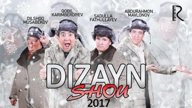 Dizayn jamoasi (Dizayn Shou 2017) Konsert Dasturi