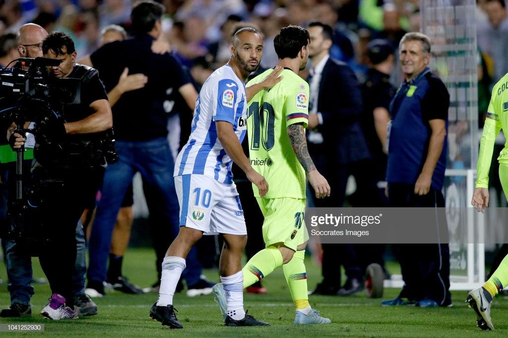 صور مباراة : ليغانيس - برشلونة 2-1 ( 26-09-2018 ) Mu