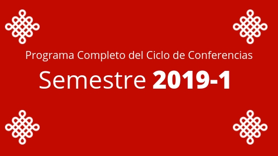 Ciclo de Conferencias 2017-1