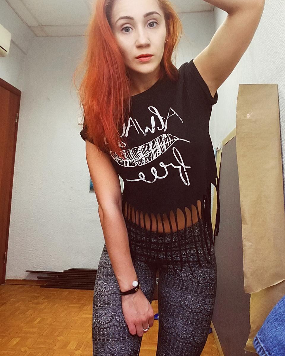 Pelirrojas: La hermosa Alyona Evdokimova