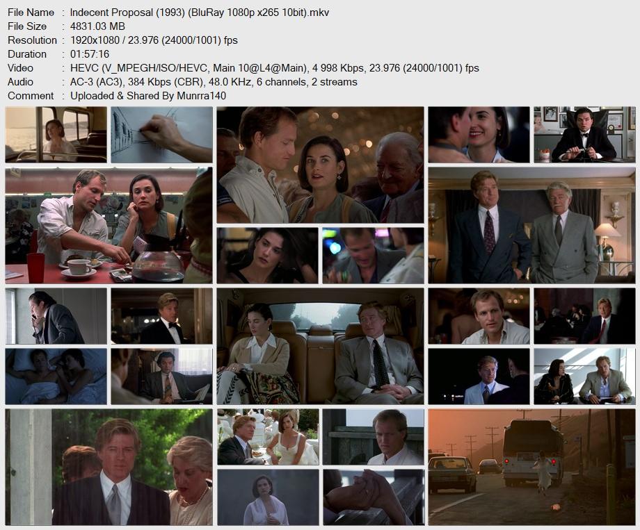 Indecent Proposal (1993) x265 10Bits 1080p