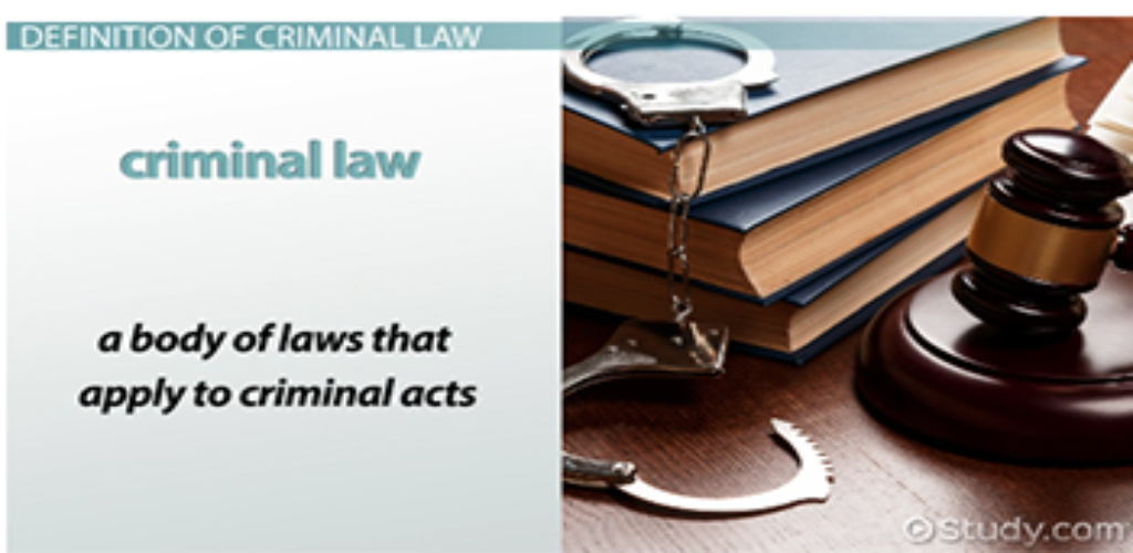 Law Criminal Cases Explained