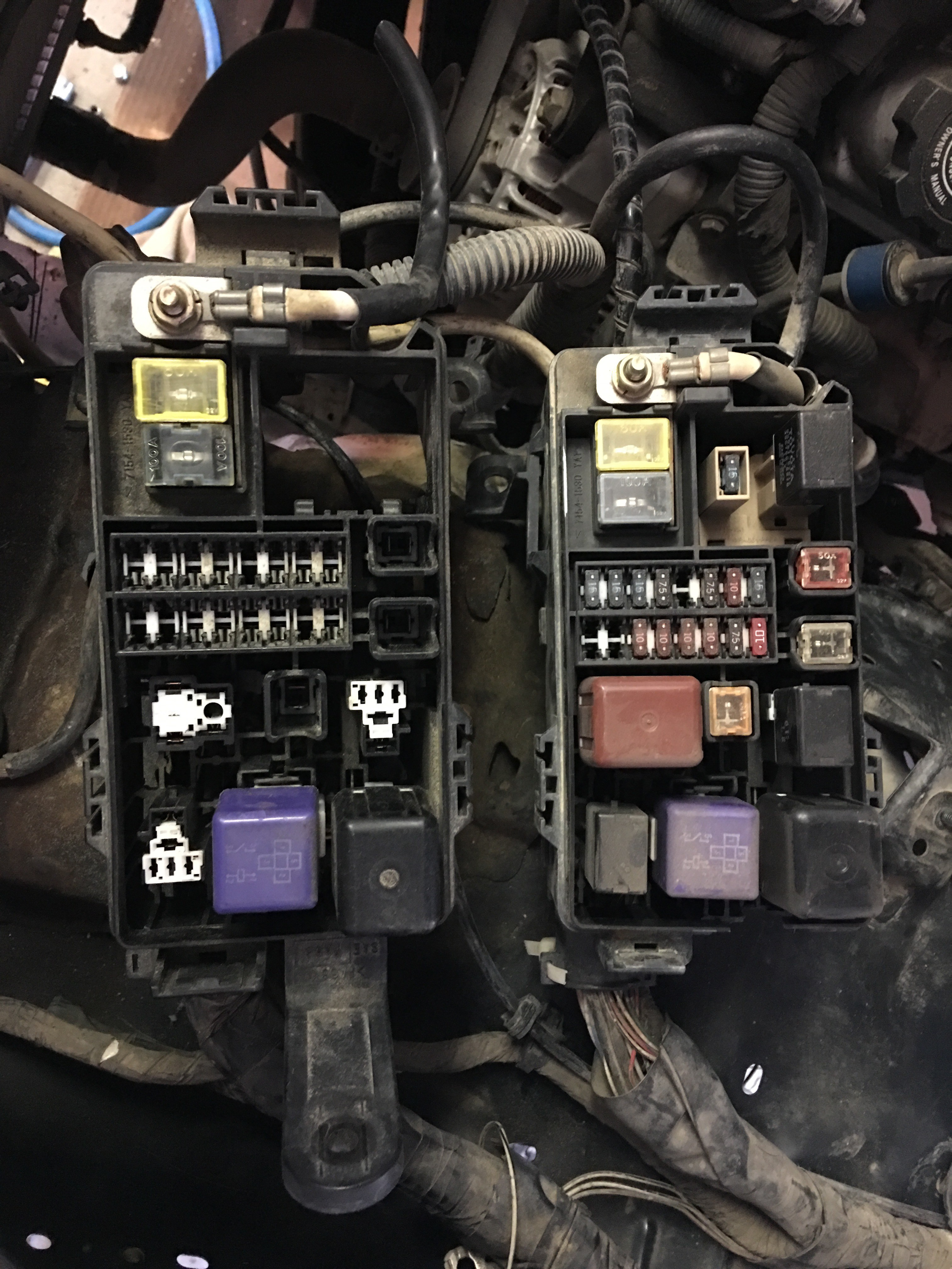Fuse Box Help Toyota 4runner Forum Largest 02 Before I Start Sawing And Jb Welding Mounts Anyone Have Any Good Ideas To Remount The New Pictures For Detail