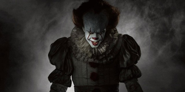 Pennywise The Clown Terrorises Bill Hader's Richie Tozier In New IT: CHAPTER 2 Set Photos