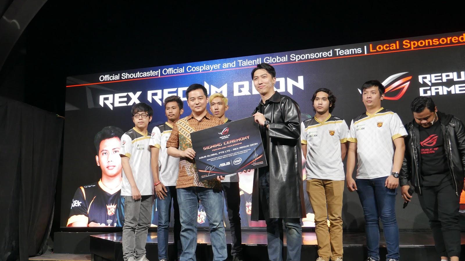 Rex Regum Qeon - Salah Satu Organisasi Esports terbesar di Indonesia