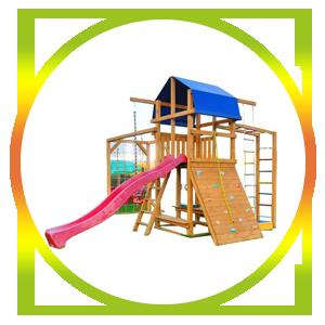 детские деревянные площадки, детскую мебель,
