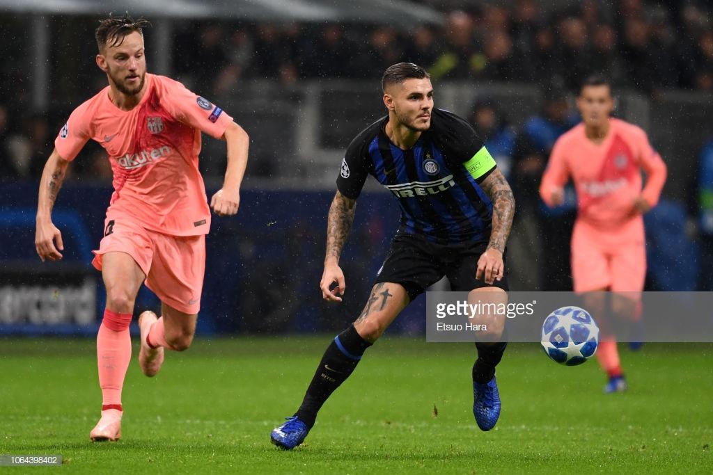 صور مباراة : إنتر ميلان - برشلونة 1-1 ( 06-11-2018 )  Mi