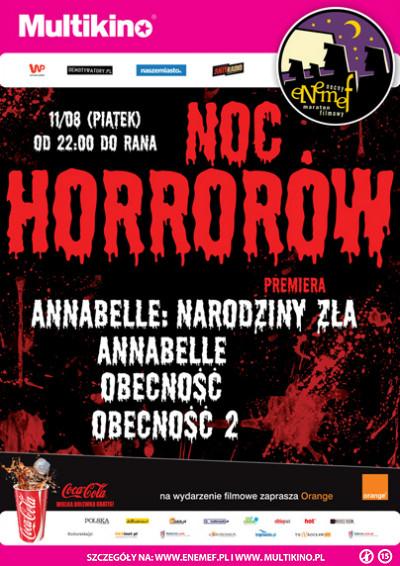 ENEMEF: Noc Horrorów - 11.08