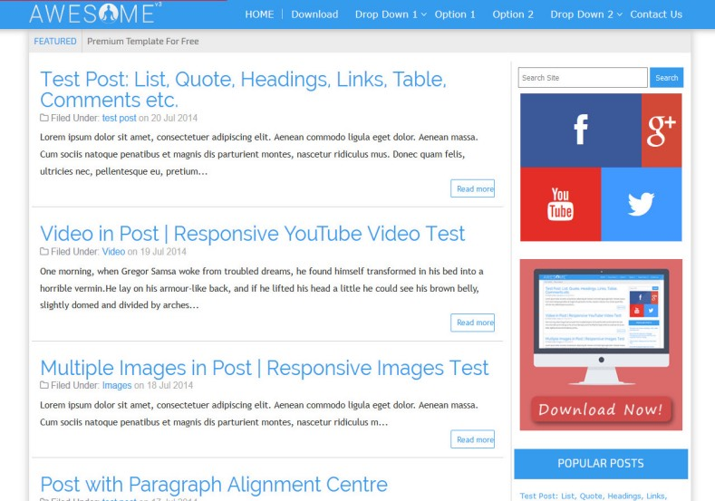 Awesome_v3_Blogger_Template_2
