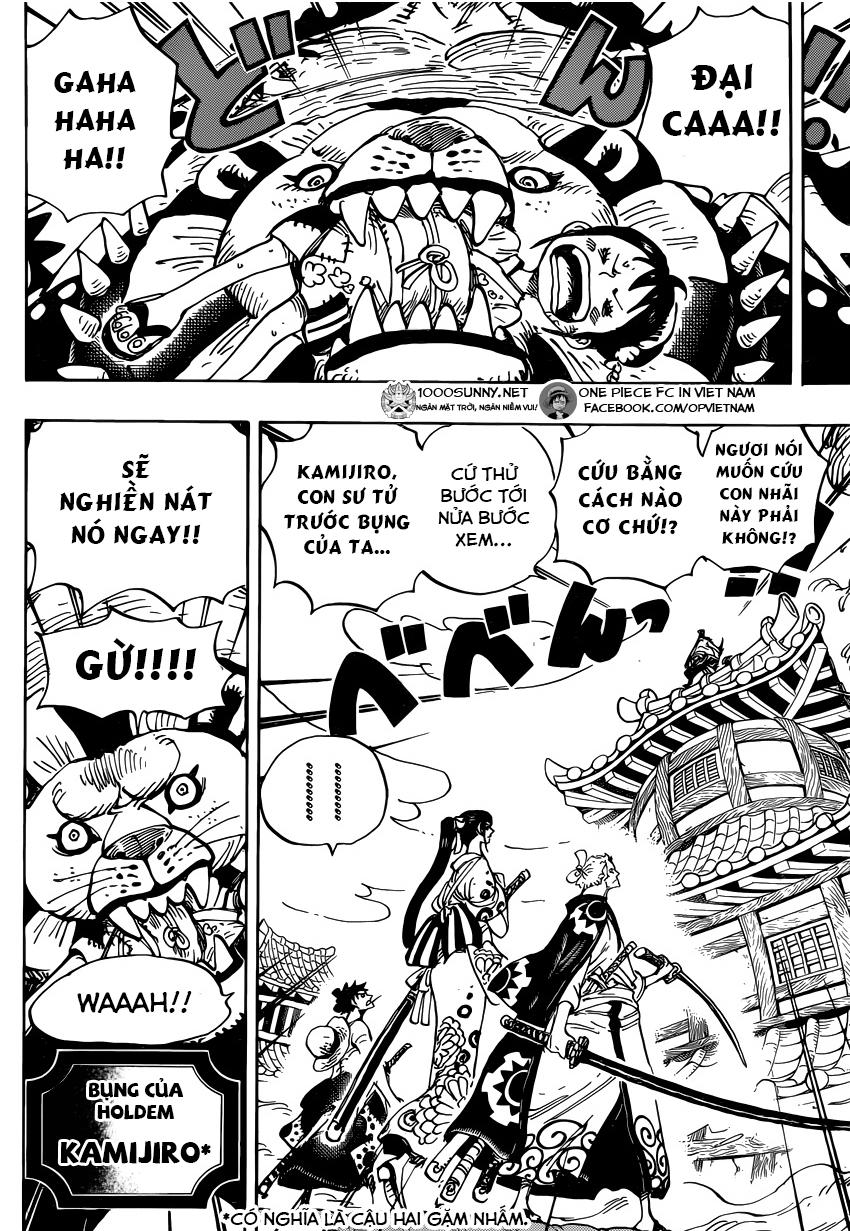 ONE PIECE CHAPTER 917: CON TÀU KHO BÁU CHỞ LƯƠNG THỰC TIẾP TẾ 6