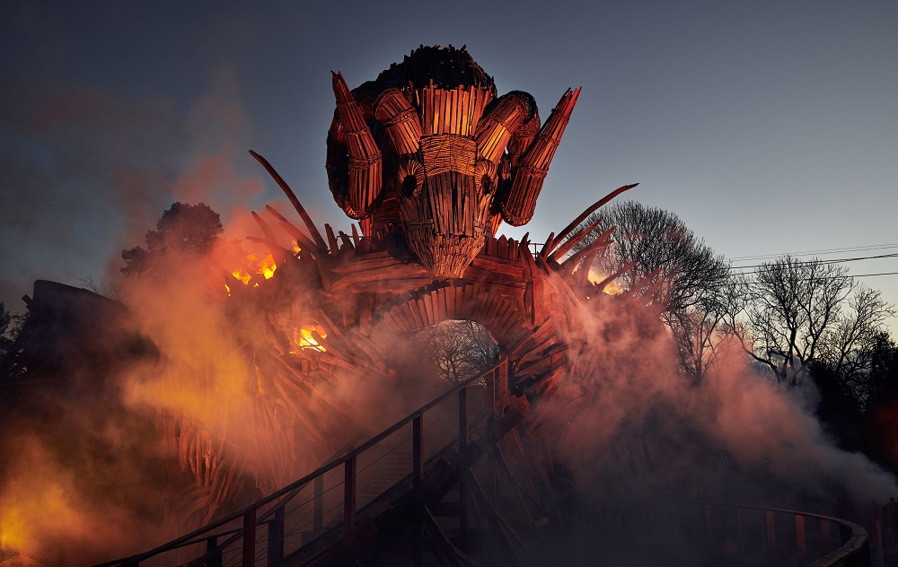 Wicker Man at Alton Towers