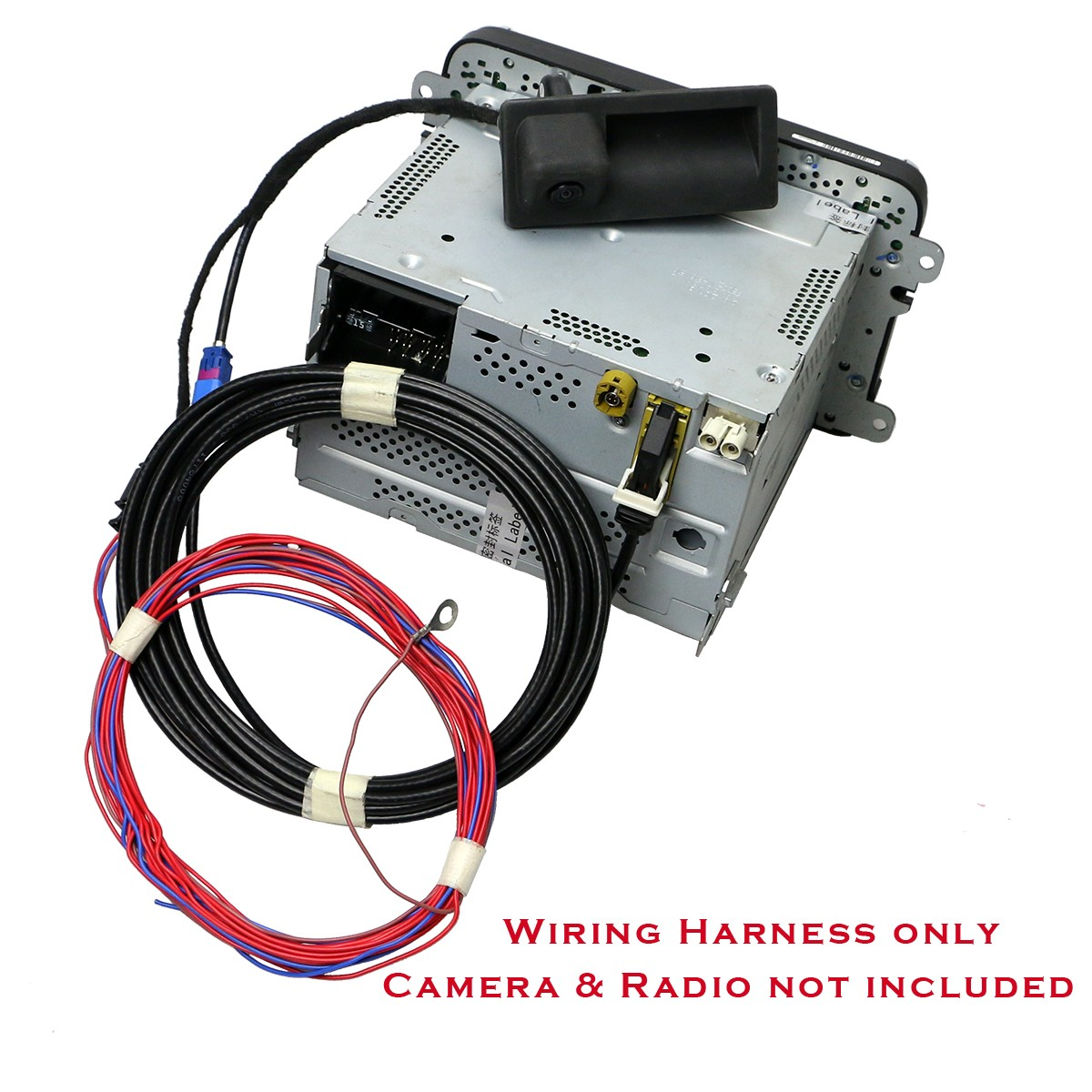 Oem Wiring Harness For Rgb Rear View Camera Fit Rcd510 No Machines India Backup And Vw Rns315 Rns510