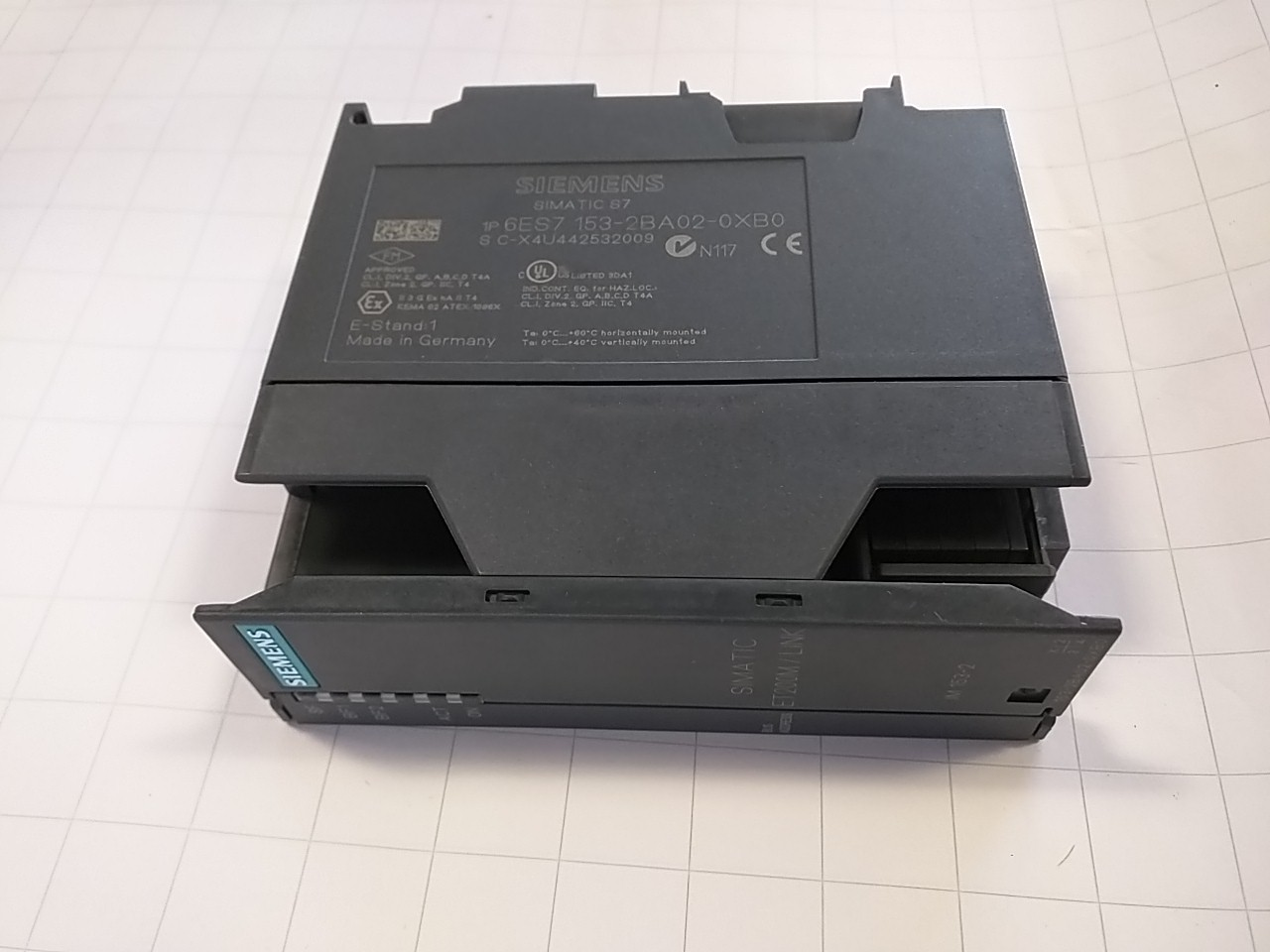 Siemens 6 es7 153 dp slave interface 1