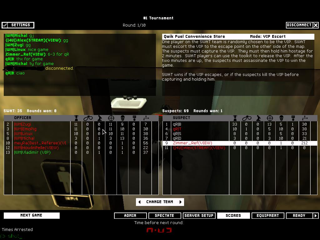 qR| vs |WM| - 2nd Semifinal ~ 6 - 3   Shot00010