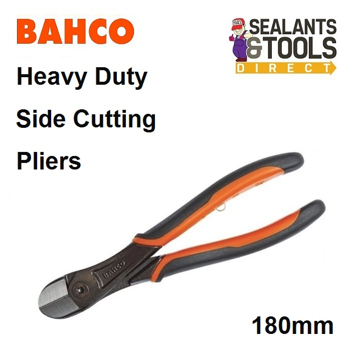 Bahco 21HDG-200 Ergo Side Cutting Heavy-Duty Pliers 200 mm