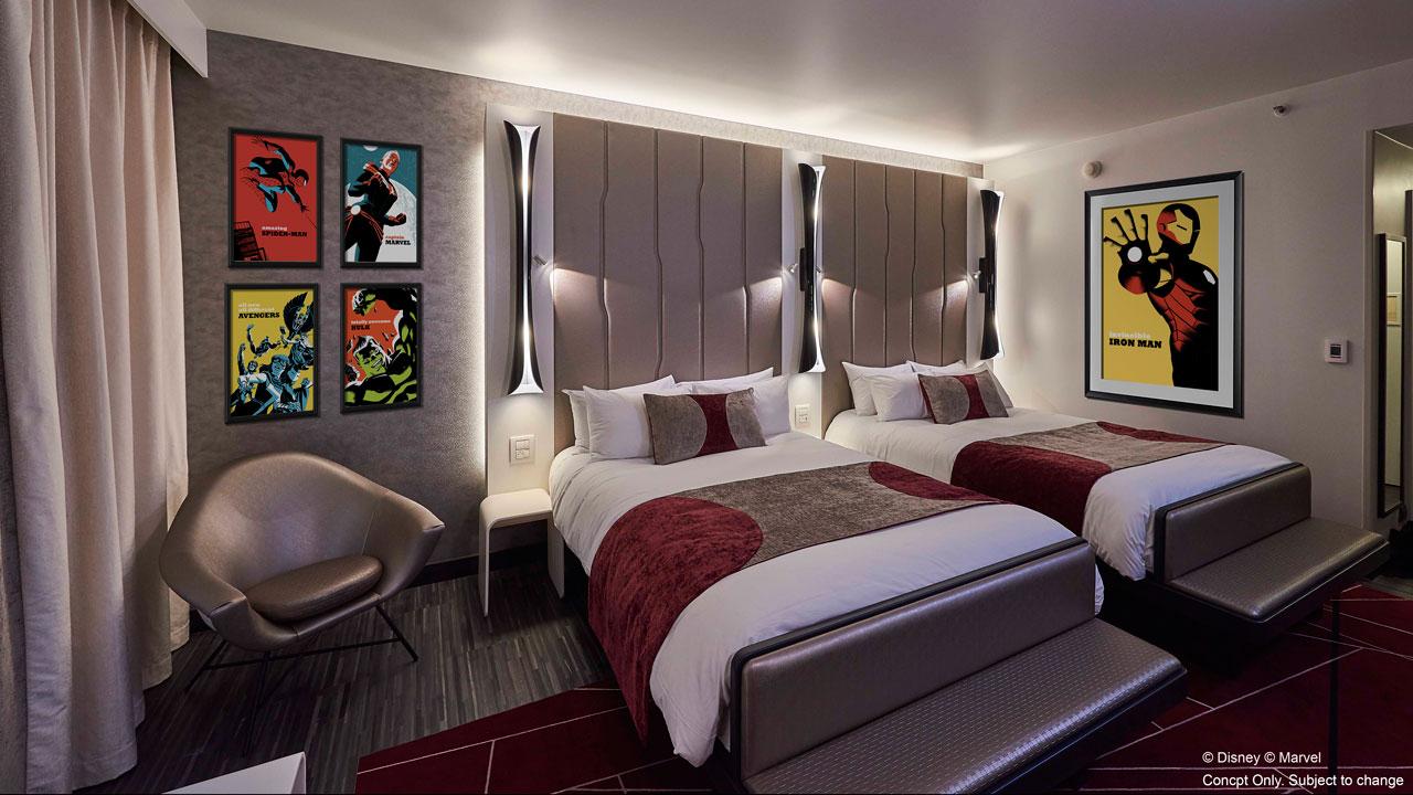 Marvel Hotel at Disneyland Paris