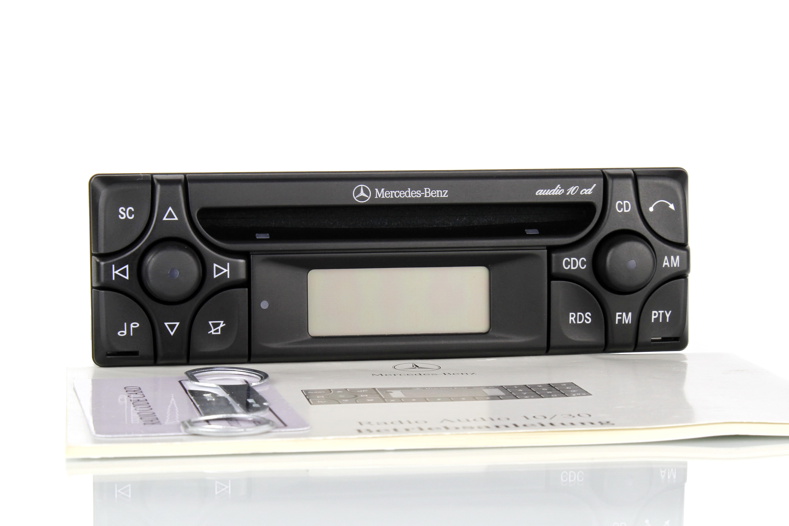 Mercedes Benz audio 10 CD CLK Klasse W208 C208 W210 W463 R129 R107
