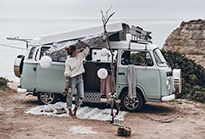 kahina & juliet ○ at the break of dawn Vanlife
