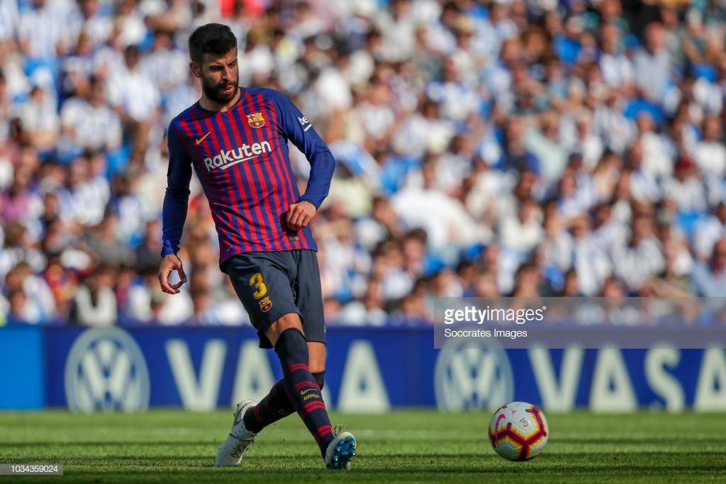 صور مباراة : ريال سوسيداد - برشلونة 1-2 ( 15-09-2018 ) P4