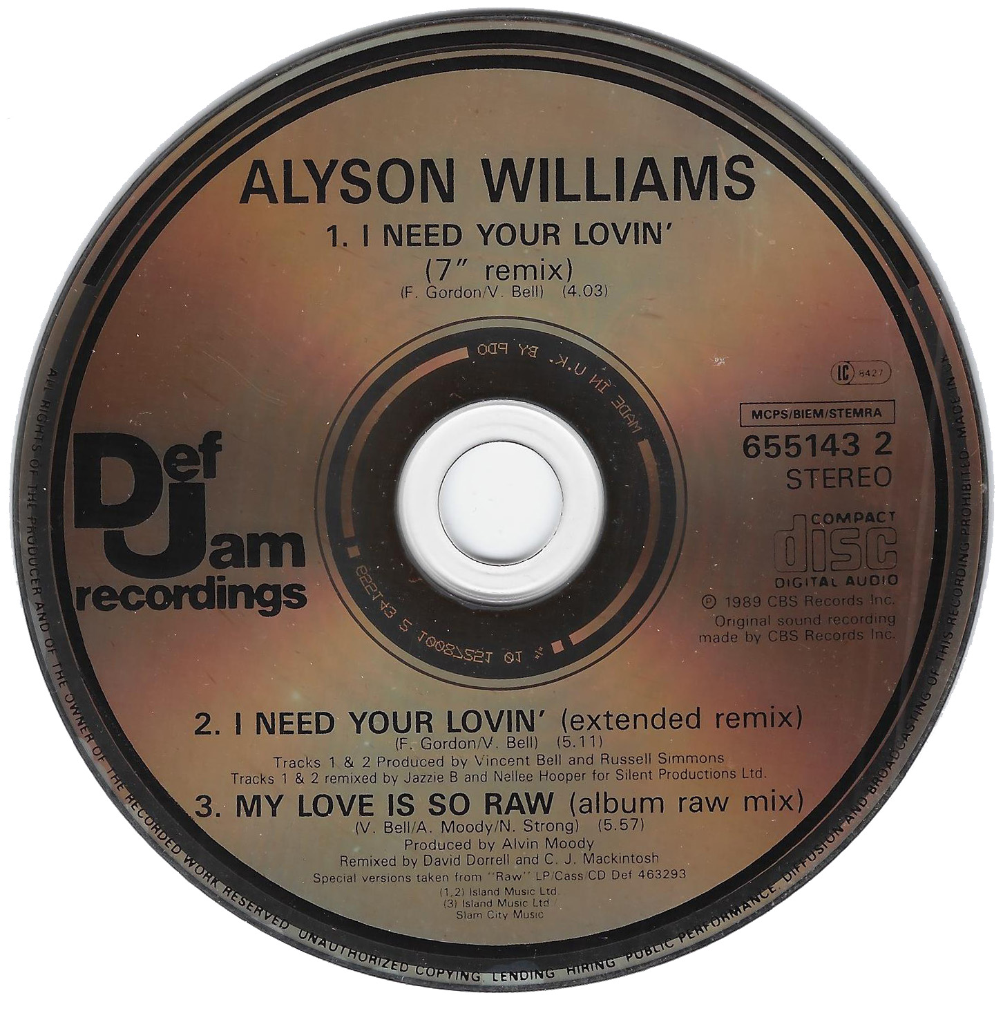 Alyson_Williams_I_Need_Your_Lovin_CD