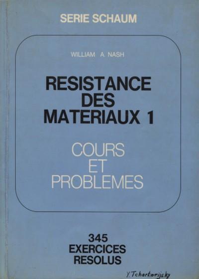 Résistance des matériaux - Cours et problèmes
