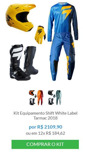 Kit Equipamento Shift White Label                          Tarmac 2018