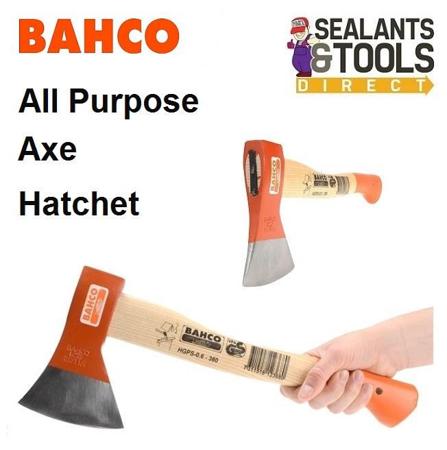 Bahco Hand Axe Hatchet Kindling Felling HGPS-0.6-360
