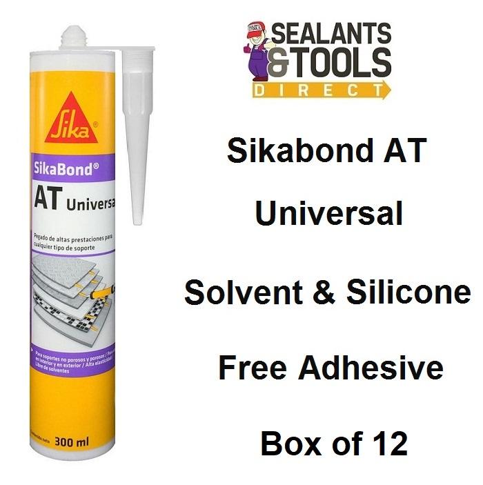 Sika SikaBond AT Universal Adhesive 300ml Box of 12
