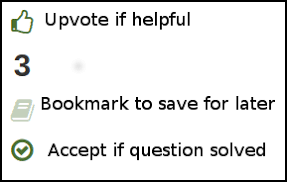 Upvote|Bookmark|Accept