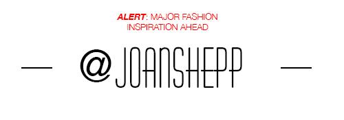 joan shepp instagram designer fashion