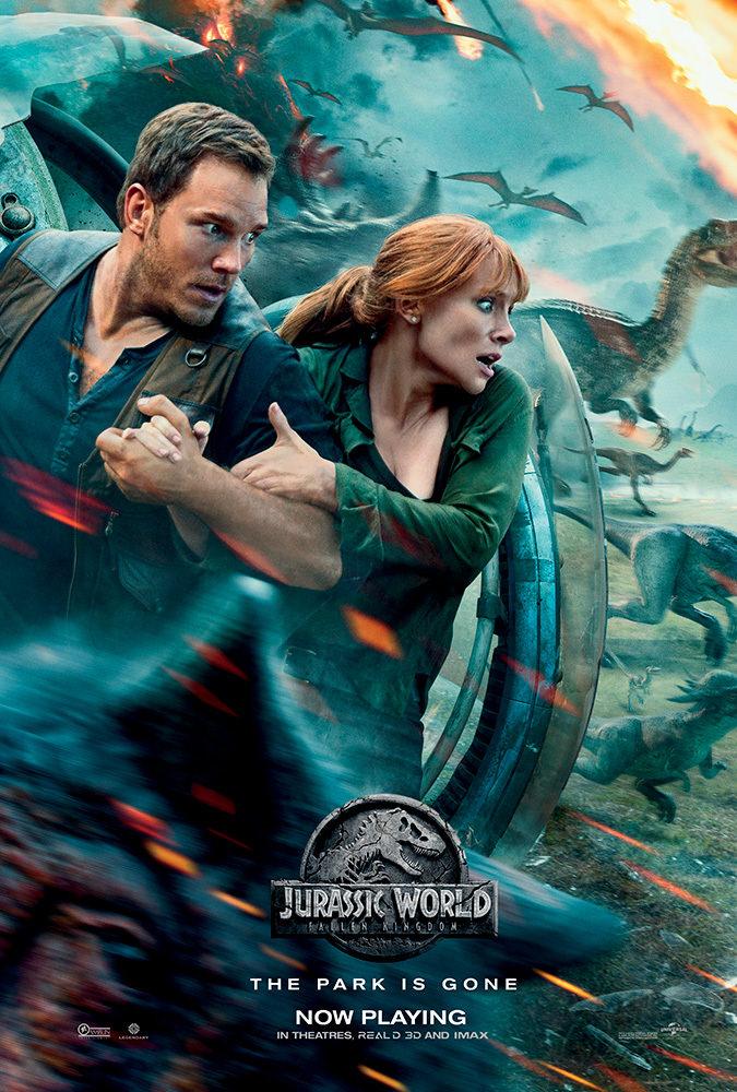 Jurassic World: Fallen Kingdom (2018) 720p HDRip 900MB